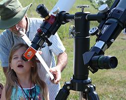 Grant to provide Astronomy Education resources in Western North Carolina - Solar Telescope Viewing at Macon County Public Library