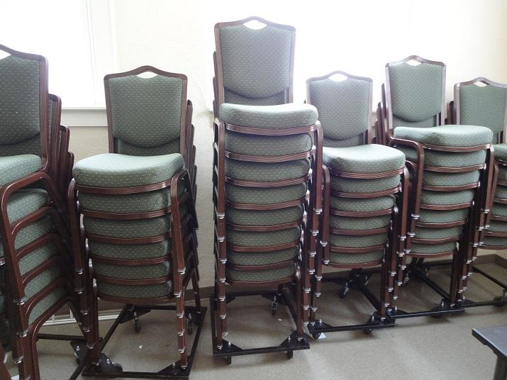 Jackson County Public Library Community Room Chairs