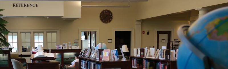 Jackson County Public Library Reference Area