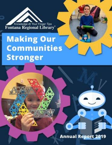 Fontana Regional Library - Annual Report 2019 Cover