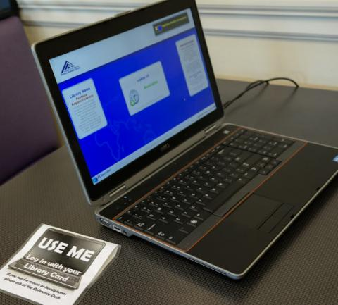 Jackson County Public Library Laptops for Public Use