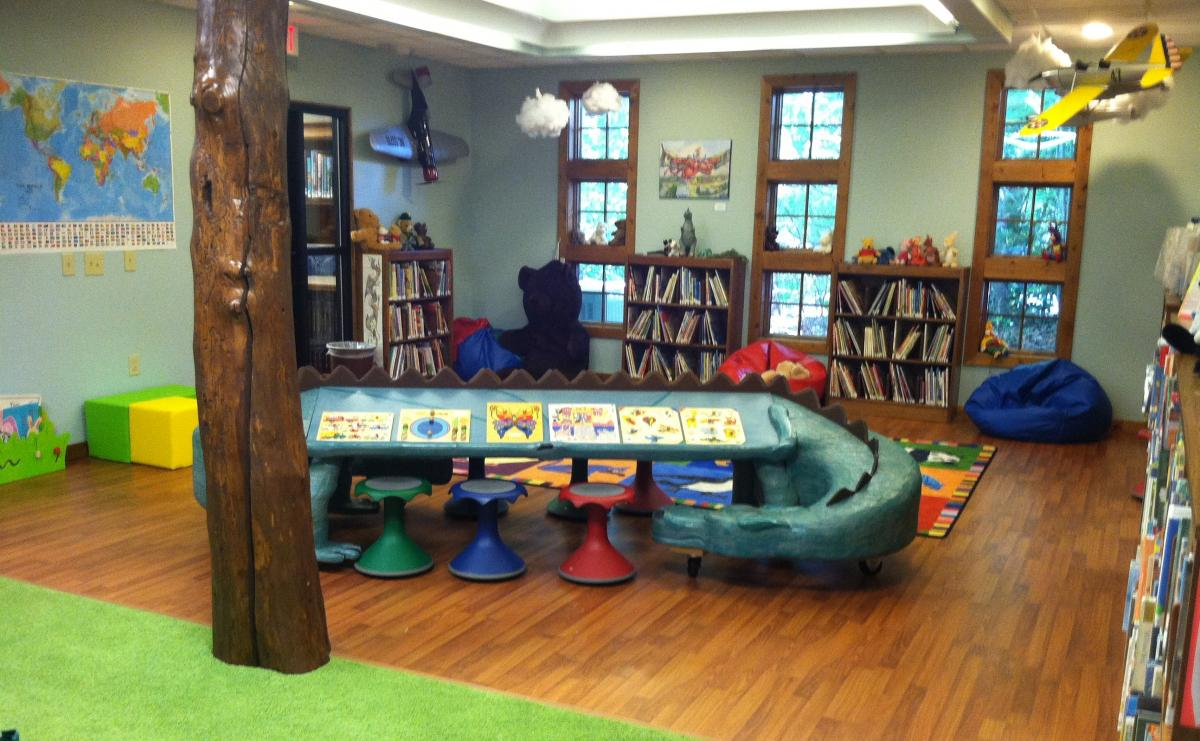 Hudson Library Children's Room