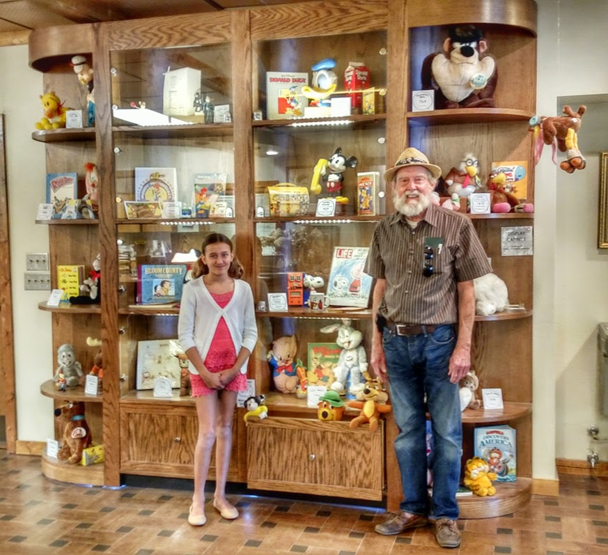 Don Cook's Animals in Cartoons Display